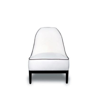 ddison Armless Upholstered Accent Chair