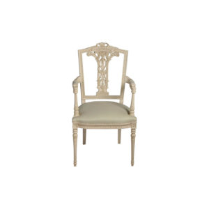 French Style Dining Chair Gray
