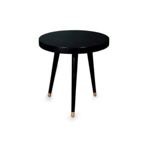Lucas Round Three Legged Side Table