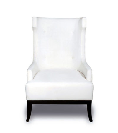 Matias Upholstered Wing Back Arm Chair