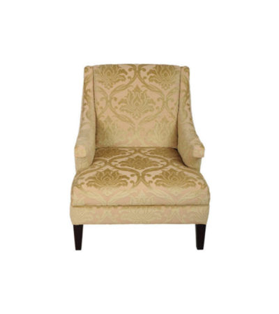 Windsor Upholstered Patterned Armchair