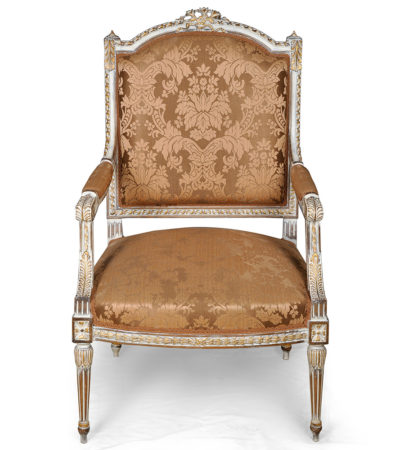 french-distressed-painted-arm-chair