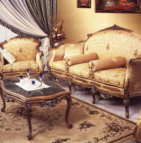 Amiel Classical French Salon Set 2