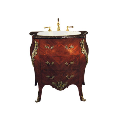 Ellamae Natural Veneer Vanity Unit