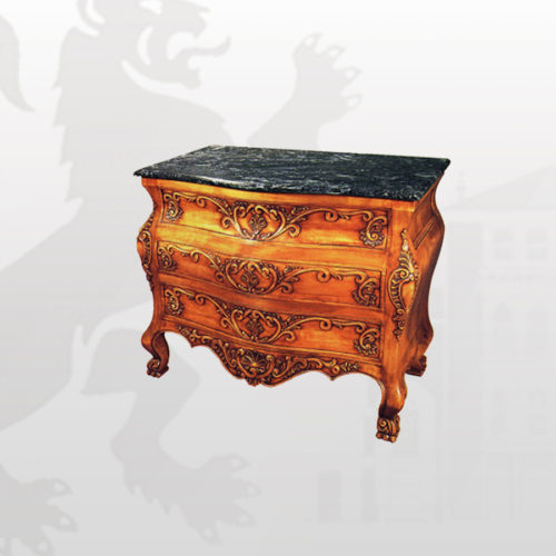 hand-carved-3drawers-chest-with-marble-top