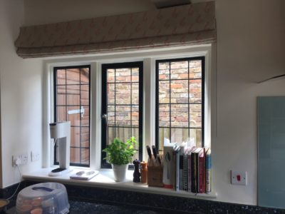 Kitchen Roman Blinds