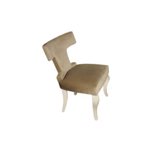 Melody Upholstered Wingback Dining Chair Top View