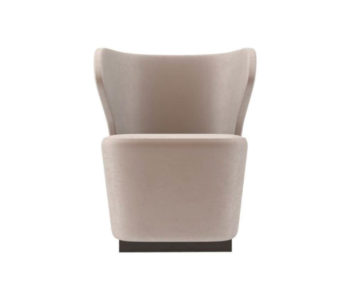 Anna Upholstered Wingback Accent Chair