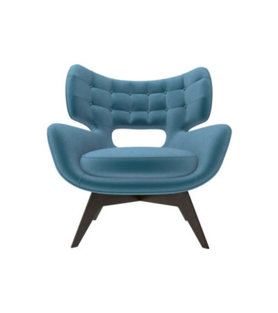 Farida Upholstered Button Armchair