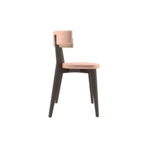 Libby Upholstered Carver Dining Chair Right Side View