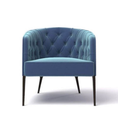 Saga Upholstered Tup Tufted Armchair