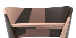 Accent Upholstered Tup Patterned Sofa