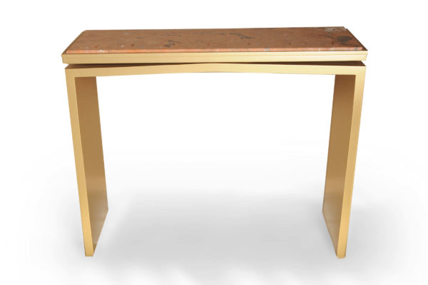 Arch Marble Top Console Table