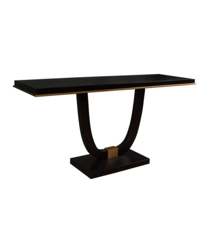 august console table brown