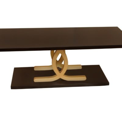 Azaro Black and Gold Coffee Table