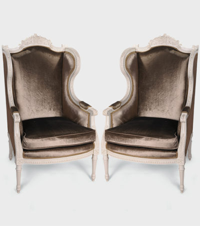 colonial-hand-carved-wing-chair-set
