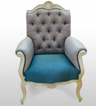 french-painted-wing-back-armchair-UK