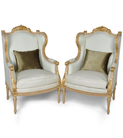 french-style-wing-back-chair-gold-set-cushion