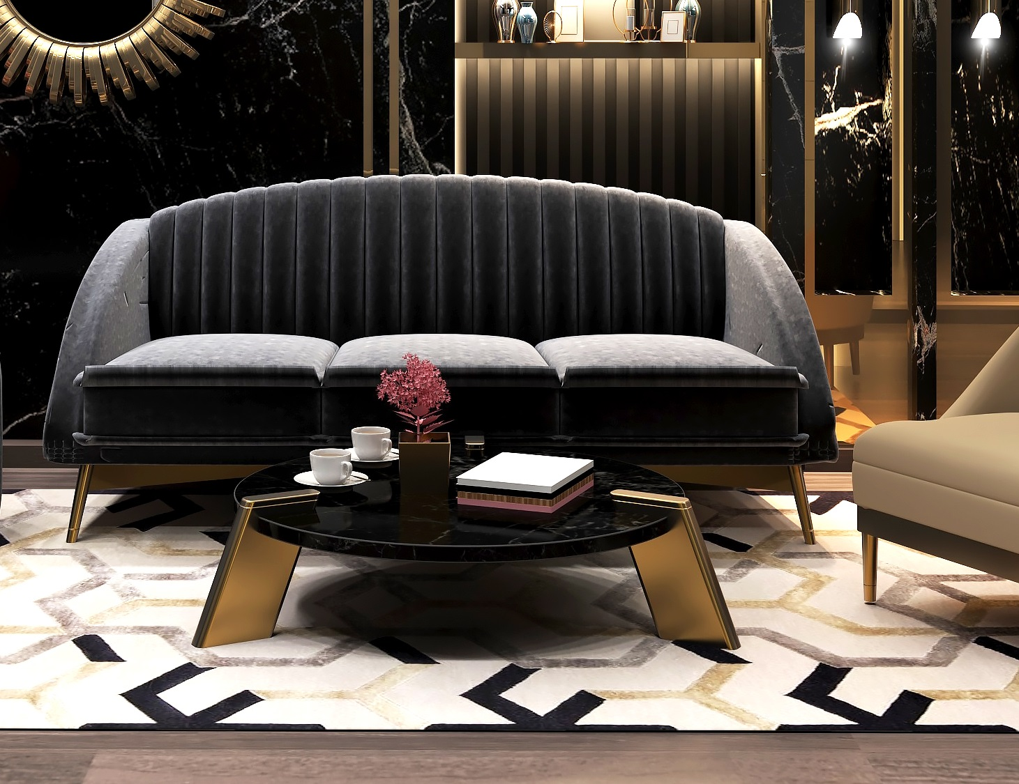 contemporary luxury tables
