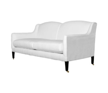 Artis 2 Seat Upholstered Sofa Beside View