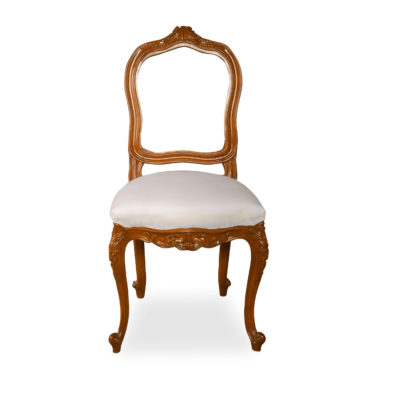 Macey Upholstered Vintage Dining Chair With Wood Frame