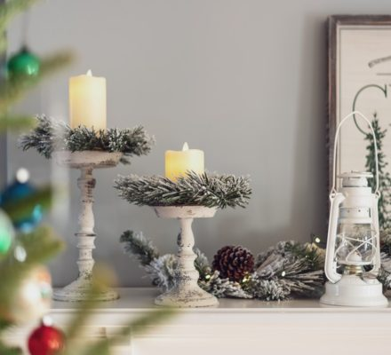 candle christmas decoration ideas