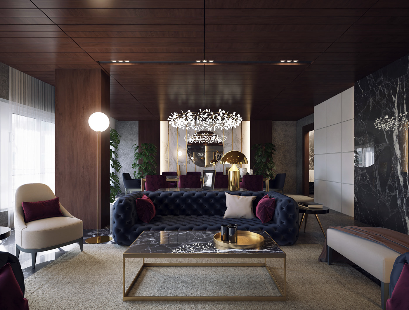 Manchester Luxury Living Room Furniture 1